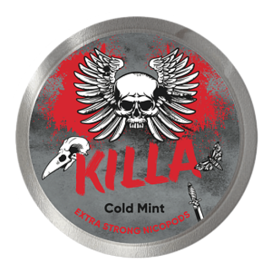 KILLA Cold Mint 16 mg/g